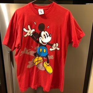 Vintage USA Made Single Stitch Disney Mickey Mouse